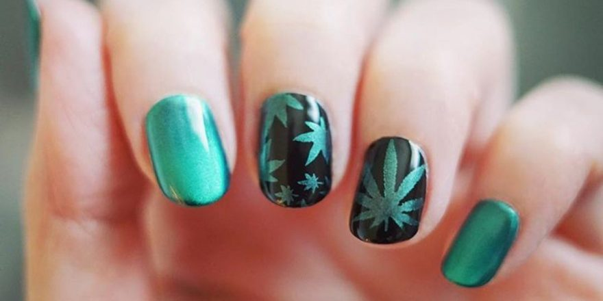 - 40 Dope Nail Art Designs For Cannabis-Loving Ladies - Big World Tale