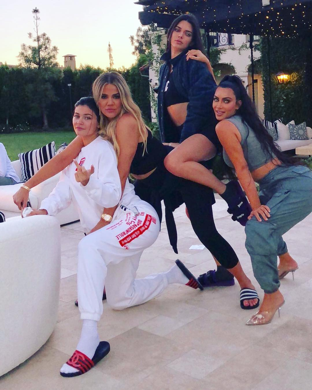 Inside Khloé Kardashian's Backyard 34th Birthday Bash