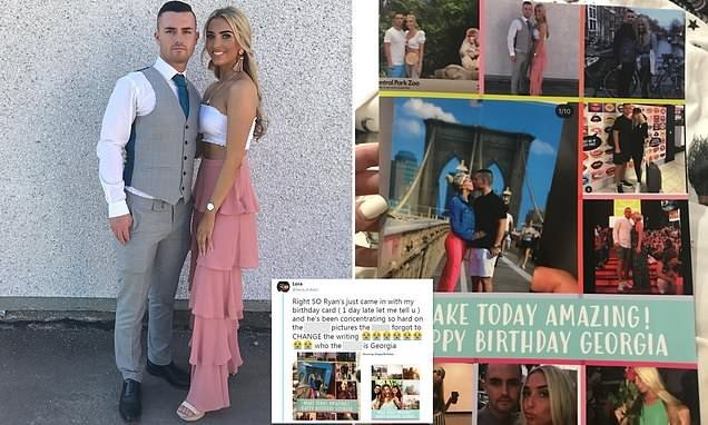 Boyfriend Addresses Girlfriends Birthday Card To WRONG Person
