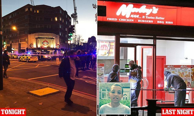 Second Teen Death As Boy, 17, Is Killed Outside London Tube Station - Big World Tale-9924