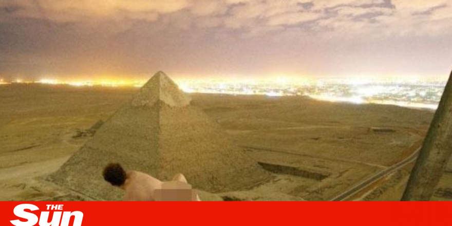 Photo Of Couple Banging On The Great Pyramid Sparks